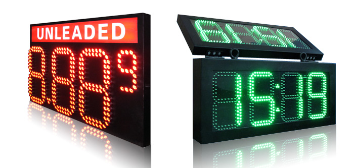 led traffice sign