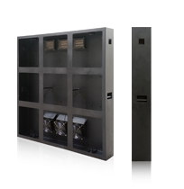 front open LED video wall cabinet