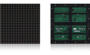 P16 outdoor full color 1R1G1B LED modules