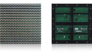 P16 outdoor full color 2R1G1B LED modules