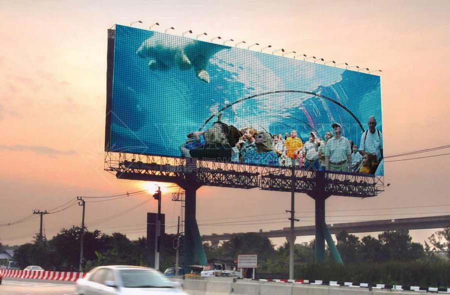 LED Billboard Display, Highly Reliable led screen