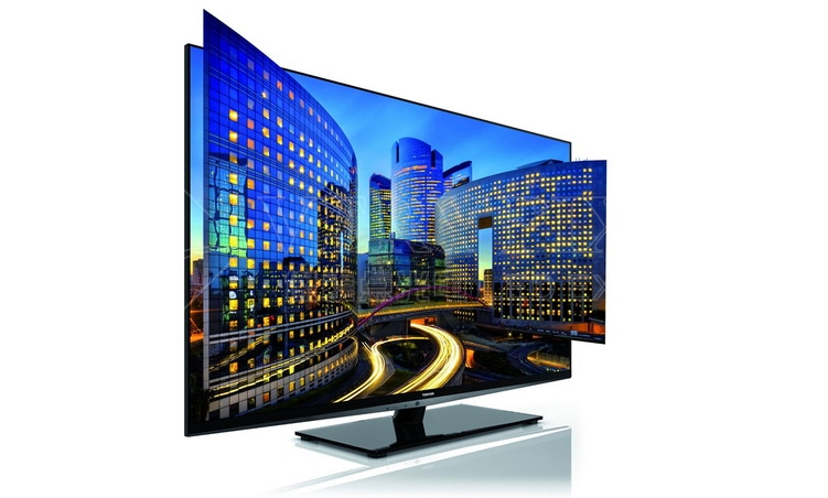 3D LED LCD TV, HD LED Display