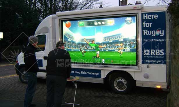 LED Mobile Billboard, Electronic LED Display Screens