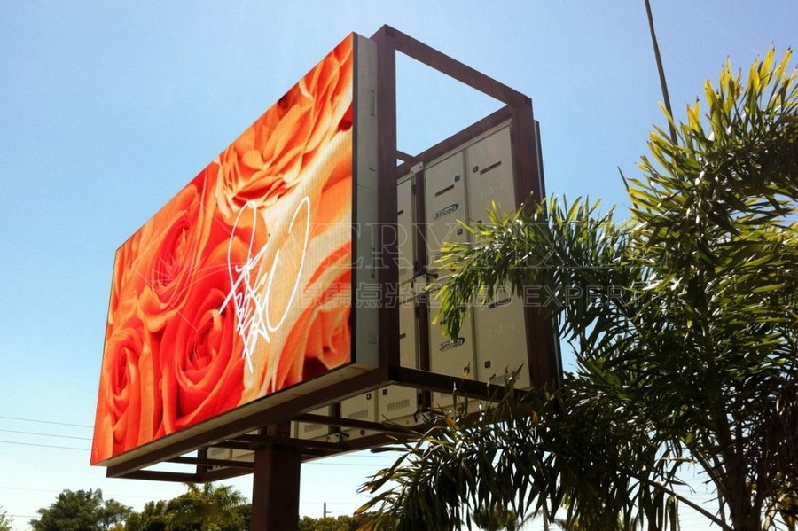 Electronic Advertising Board Outdoor, LED Advertising Screen
