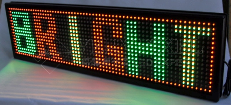 LED scrolling message boards, LED signs Displays, LED car message sign display