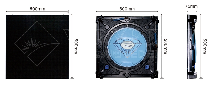 outdoor high-end die -casting led display