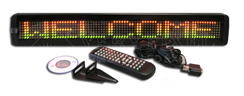 programmable LED display,USB led display