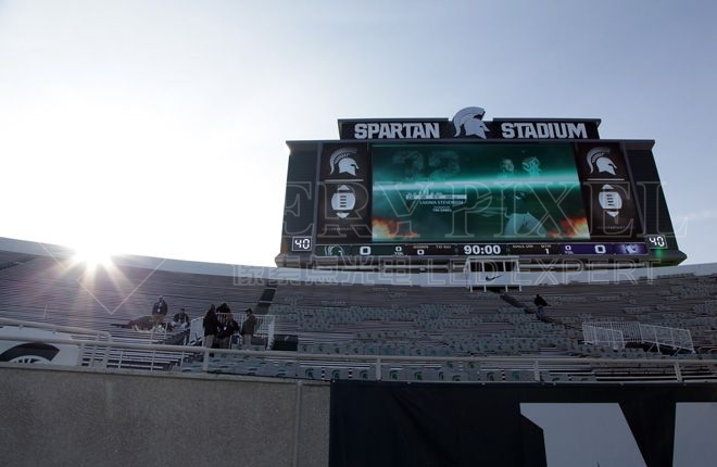 LED stadium advertising billboard display