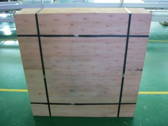 LED Display Wooden Case