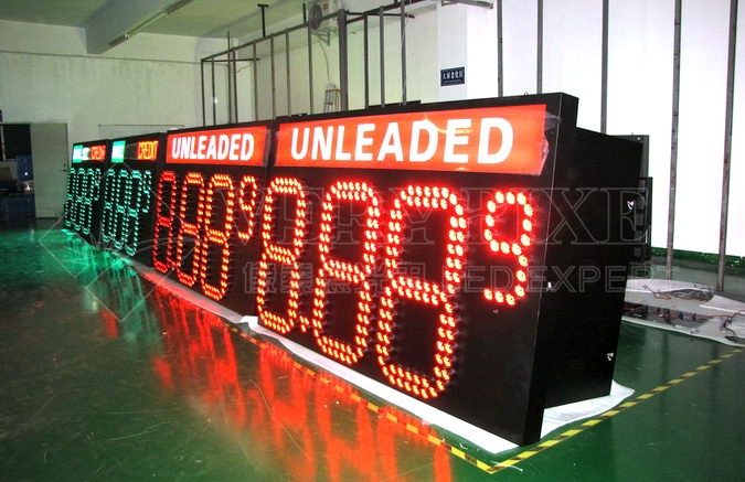 LED Number Displays