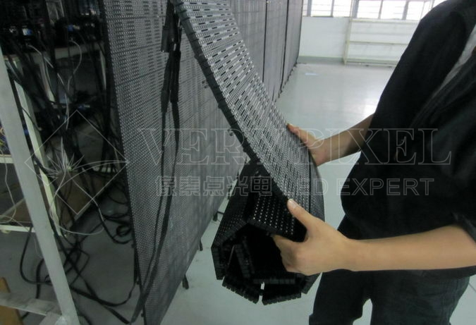 flexible led video display