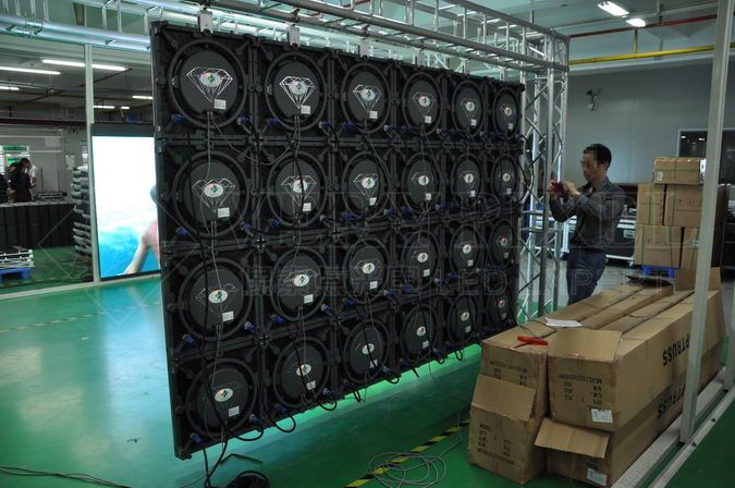 verypixel die-casting rental led display