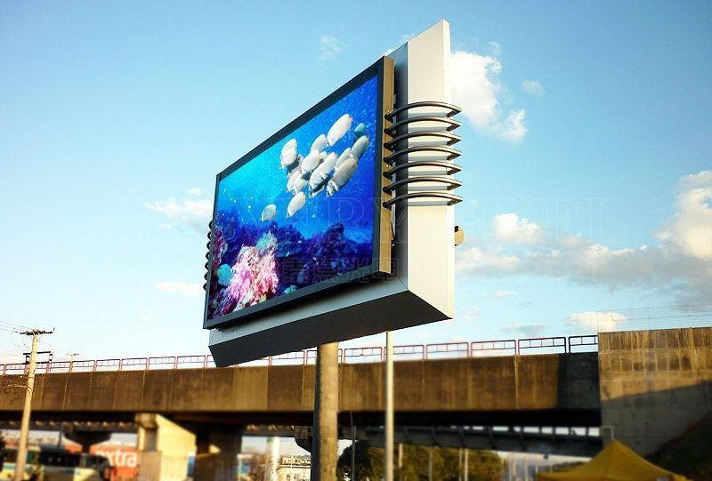 High Definition p12 Outdoor LED advertising billboard