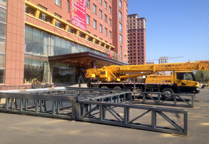 Outdoor LED Display Steel structure