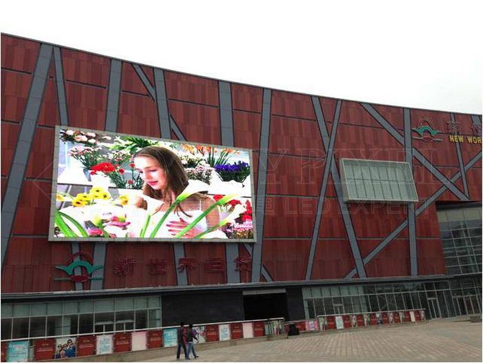 250sqm P16 Nichia giant LED display