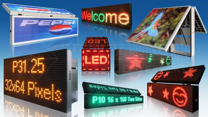 Moving Message LED Display