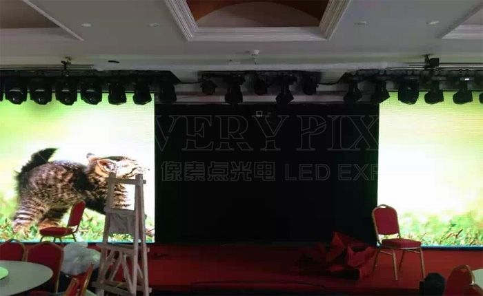 movable LED screen