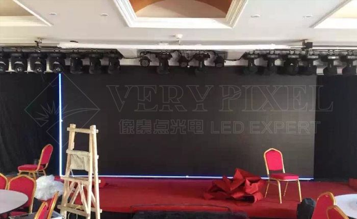 door sliding LED display