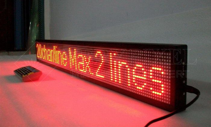 led moving Sign,moving led display