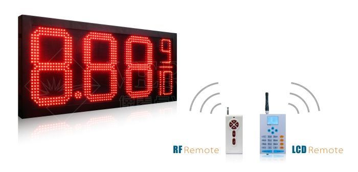 8.88 9/10 led gas price sign