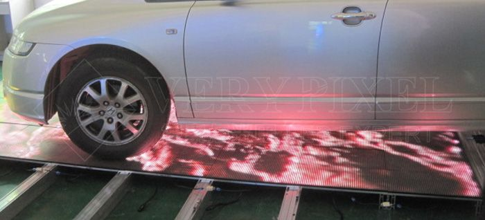 LED dance floor display