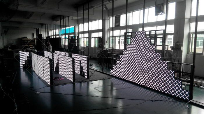 VP-Fastile front service indoor LED stage background