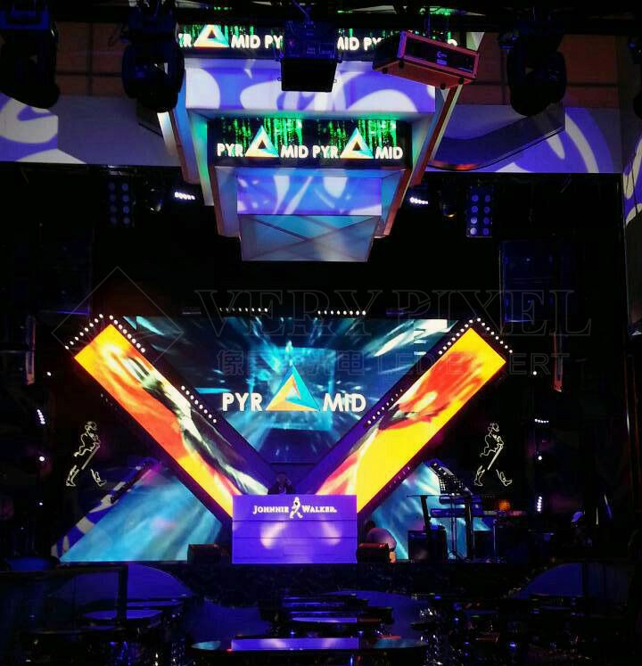 Singapore POWER HOUSE nightclub LED display