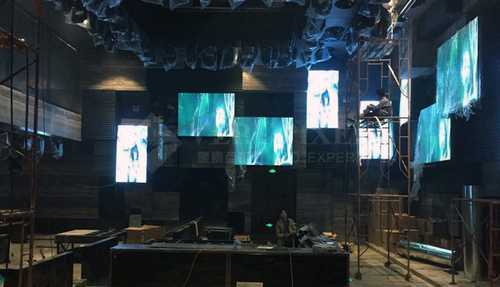 Shenzhen Honey Bar indoor P5 LED display