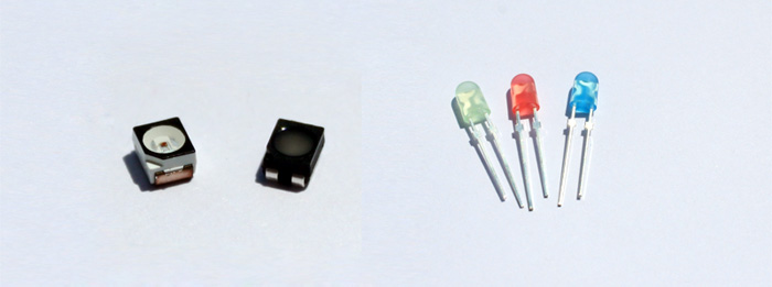 dip LEDs and smd LEDs