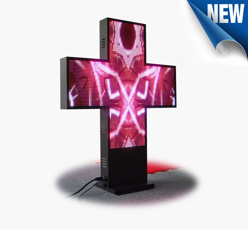 LED Cross Display