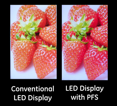 PFS phosphor LED display