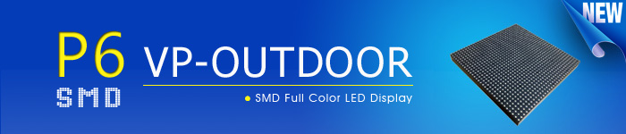 p6 outdoor smd led display screen