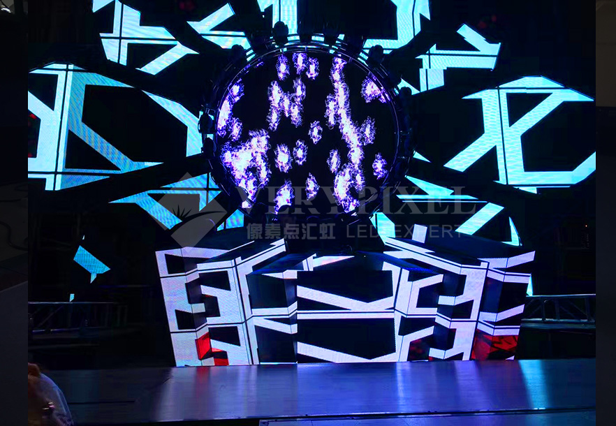 Verypixel DJ booth LED display